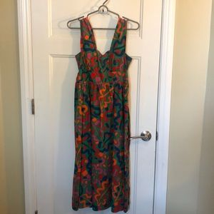 Colorful Urban Outfitters Maxi Dress